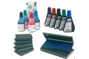 Штемпельная краска и подушки для печатей и штампов для дома и офиса