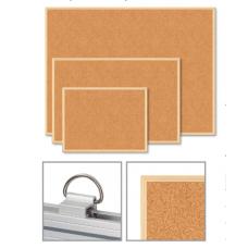 Доска пробковая JOBMAX, 45x60см, деревянная рамка
