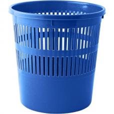 Корзина для бумаг с прорезями 8л, JOBMAX, синяя