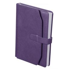 Ежедневник недатированный CREDO, A5, 288 стр. фиолетовый
