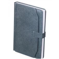 Ежедневник недатированный CREDO, A5, 288 стр. серый