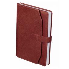 Ежедневник недатированный CREDO, A5, 288 стр. коричневый