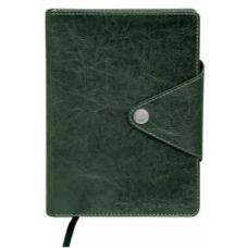 Ежедневник недатированный BUSINESS, A5, 288 стр. зеленый