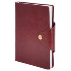 Ежедневник недатированный BUSINESS, A5, 288 стр. бордовый