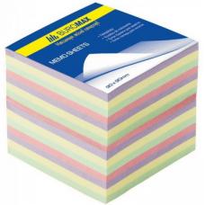 "Блок бумаги ""Декор"" 90х90х70мм, не склеенный"