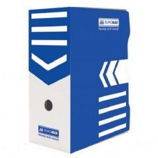 Бокс для архивации документов 150мм, синий