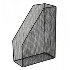 Лоток вертикальный 80x230x300мм, металлический, черный