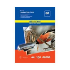 Пленка для ламинирования 80мкм, A4 (216x303мм), 100 шт.