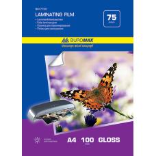Пленка для ламинирования 80мкм, A5 (154х216мм), 100 шт.