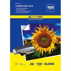 Пленка для ламинирования 100мкм, A6 (111x154мм), 100 шт.