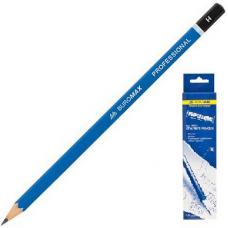 Набор чертежных карандашей H, 12шт.