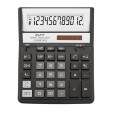 Калькулятор BS-777ВК 12р, 2-пит, черный