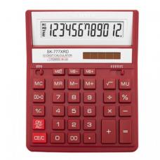 Калькулятор BS-777RD 12р, 2-пит, красный