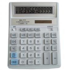 Калькулятор BS-777WH 12р, 2-пит, белый